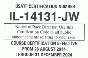 Click here to view USATF Certified Course Map