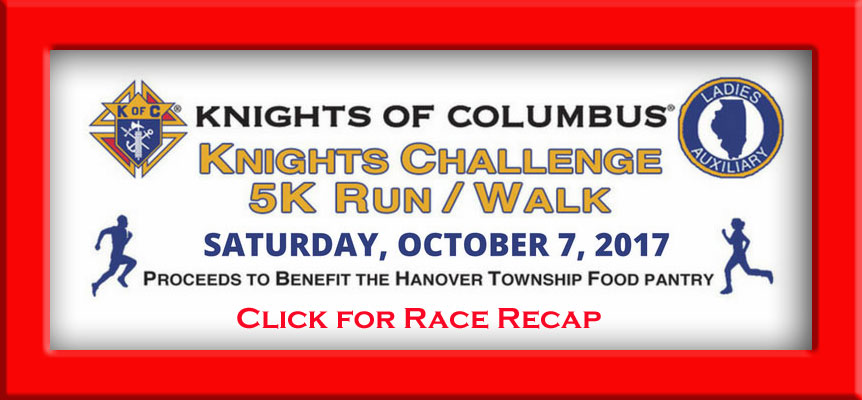 Click HERE for Recap of the Knights Challenge Run/Walk