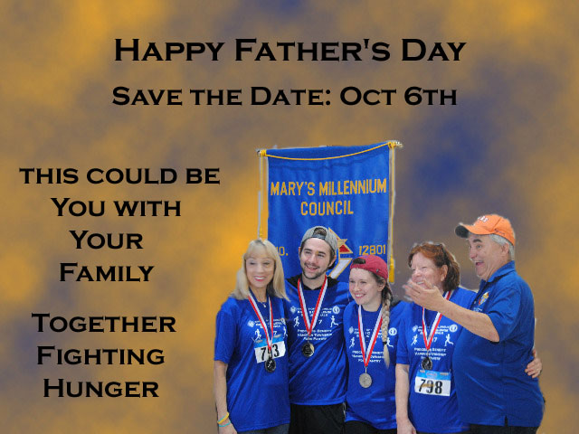 Fathers Day- save the date